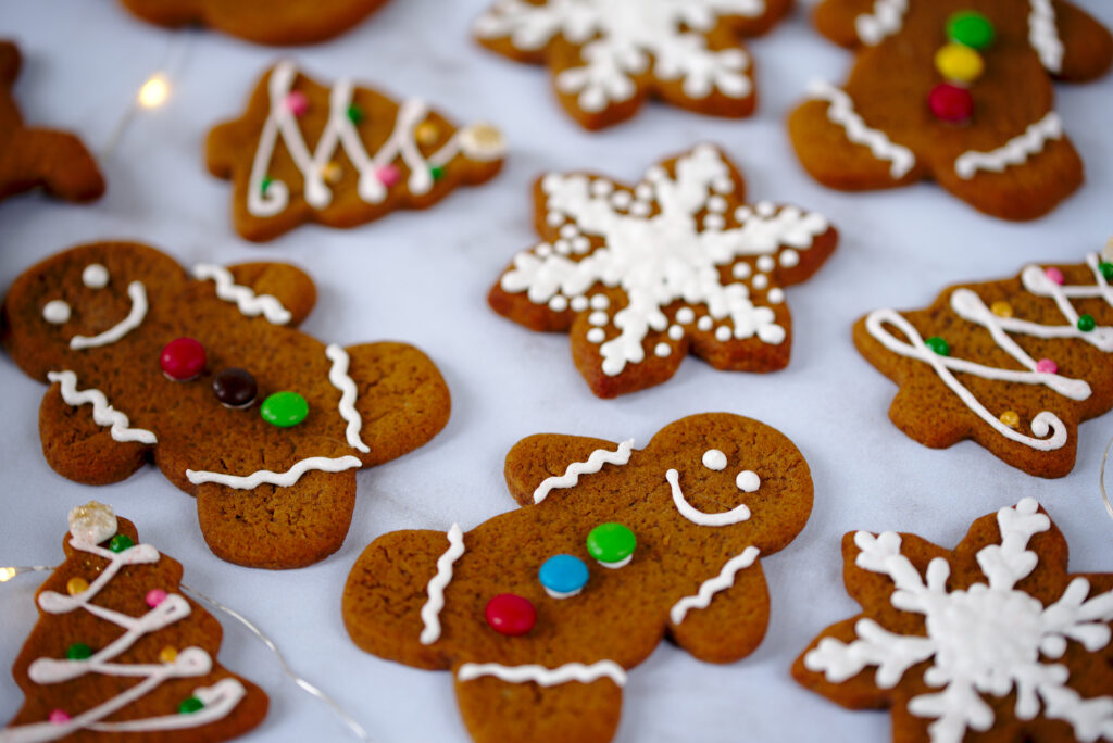 picture of Holiday gingerbread cookies