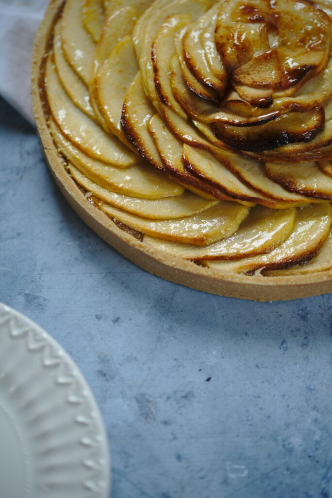 photo of apple tart