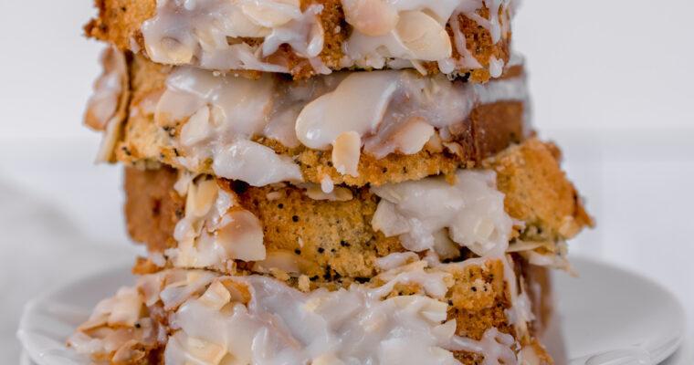 Poppy Seed Almond Bread