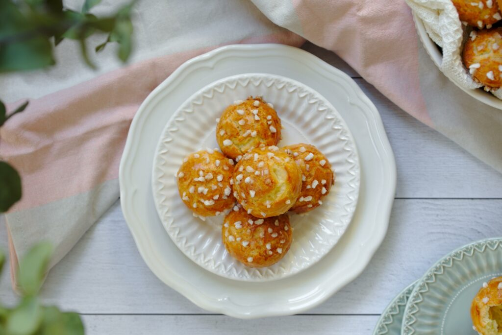 photo of chouquettes