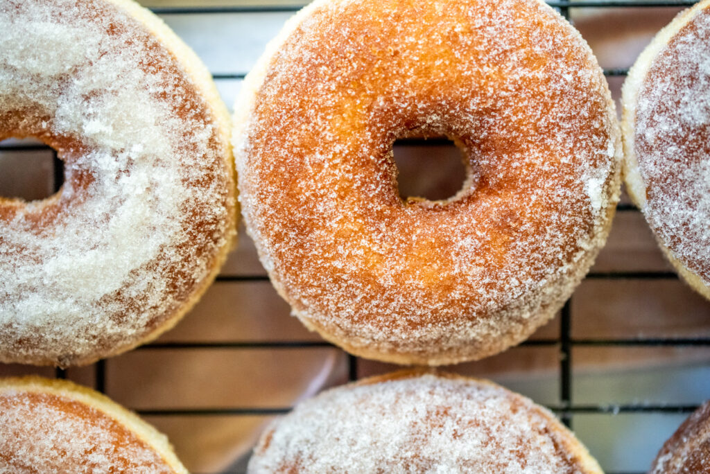 picture of sugar tossed doughnuts
